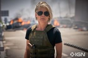Linda Hamilton as Sarah Connor - Terminator Dark Fate