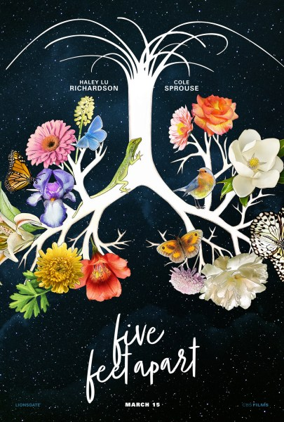 New Poster Of Five Feet Apart