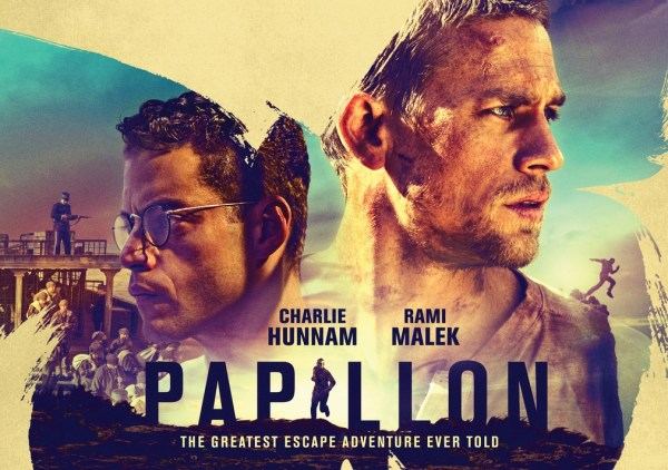 Papillon Movie 2018