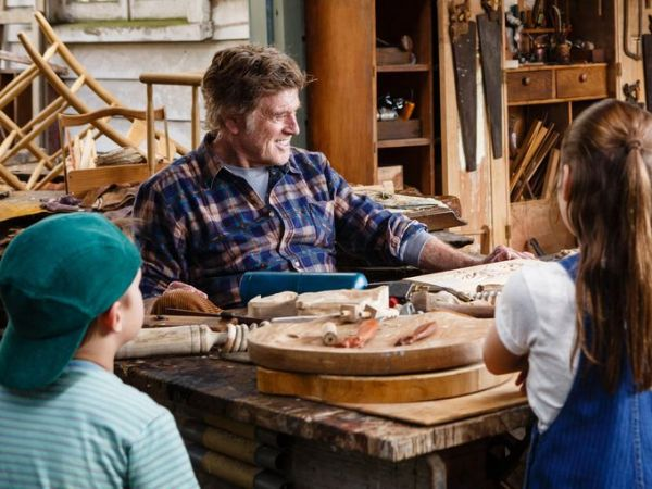 Pete's Dragon Movie remake - Robert Redford