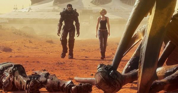 Starship Troopers Animated Mars 2017