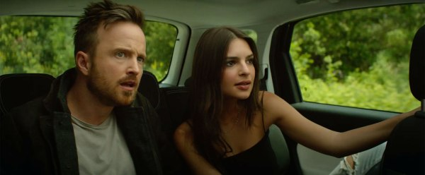 Welcome Home Movie - Aaron Paul and Emily Ratajkowski Star in First Trailer for Sexy Romance Thriller Welcome Home - Credit: Courtesy Vertical Entertainment