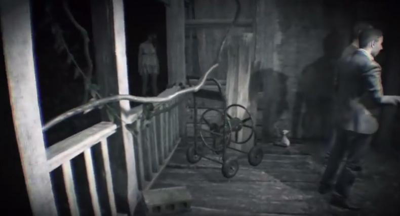 幽霊 入り口 バイオハザード7