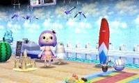 【ハピ森】海水浴場風カフェ作ってみた!【どうぶつの森ハッピーホームデザイナー】