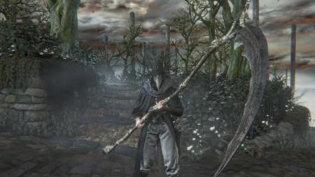葬送の刃 鎌 武器 ブラッドボーン Bloodborne
