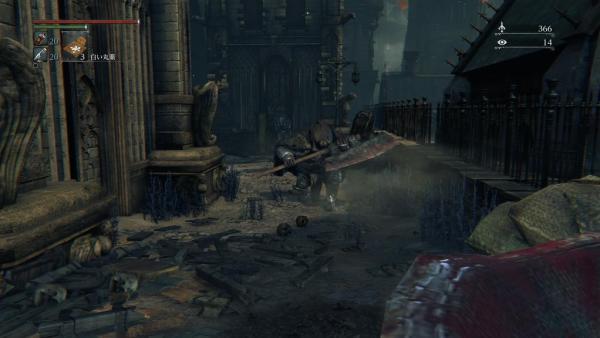斧もった敵 ブラッドボーン Bloodborne