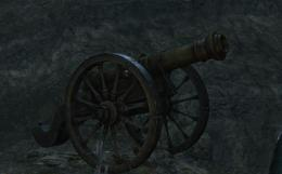 フィールドに設置されてる大砲 Bloodborne ブラッドボーン