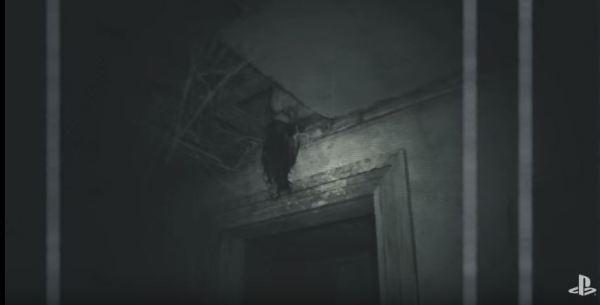 幽霊の場所 キッチンの奥ドアの上 バイオハザード7
