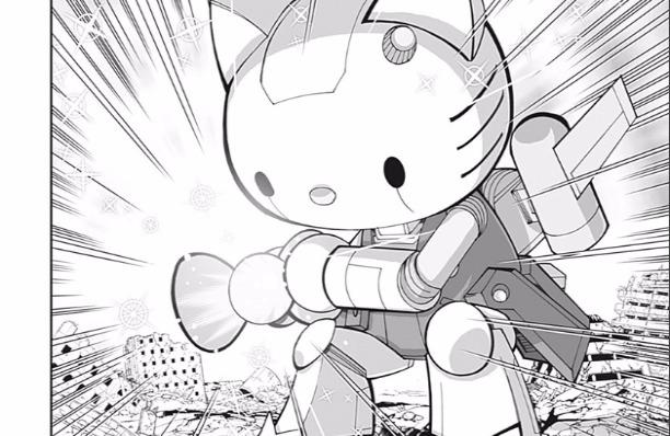 【イチゴマン】キティちゃんのリボンは、ビーム兵器。あとシャワーシーンまで公開してたw