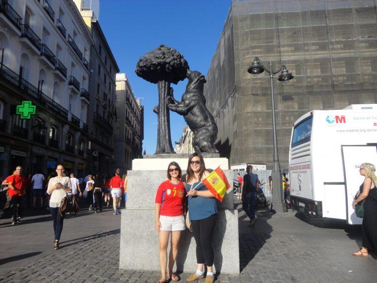 Saludos España! Cheers to Spain!