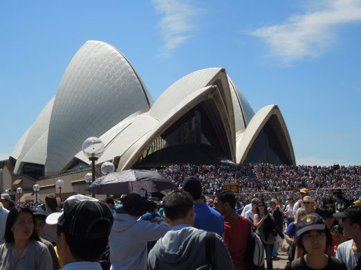 The Opera House and just a couple people who decided to show up....