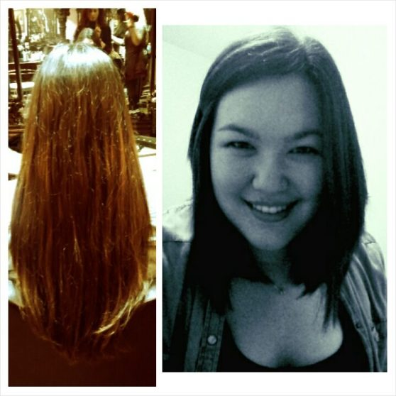 Donated 10 inches of hair!