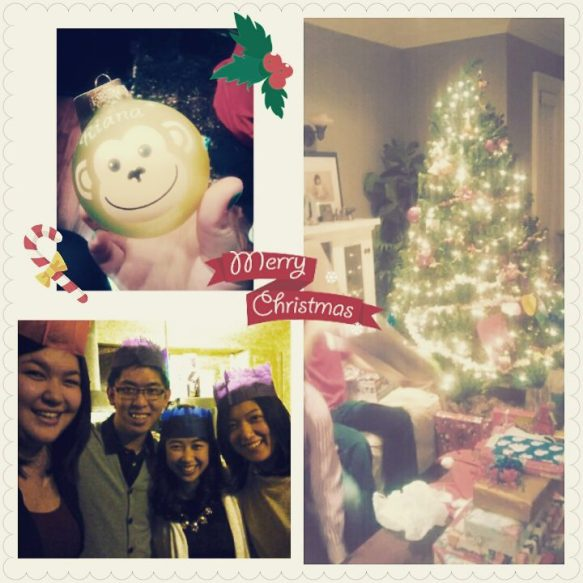 Christmas Eve with the Angs!