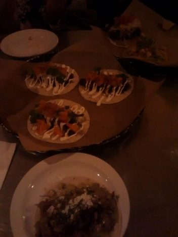 Yummiest tacos at La Carnita!