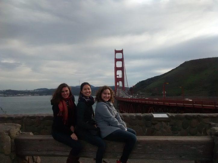 Golden girls by the Golden Gate