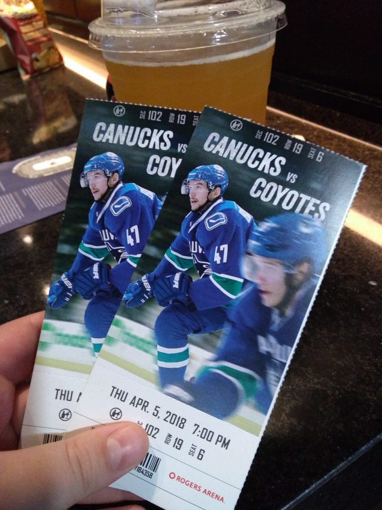 Sedins' last home game tickets