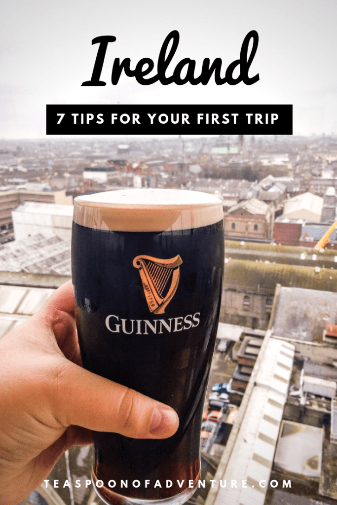 Heading to Ireland for the first time? Check out my essential trips for your first trip to Ireland! #ireland #traveltips #dublin