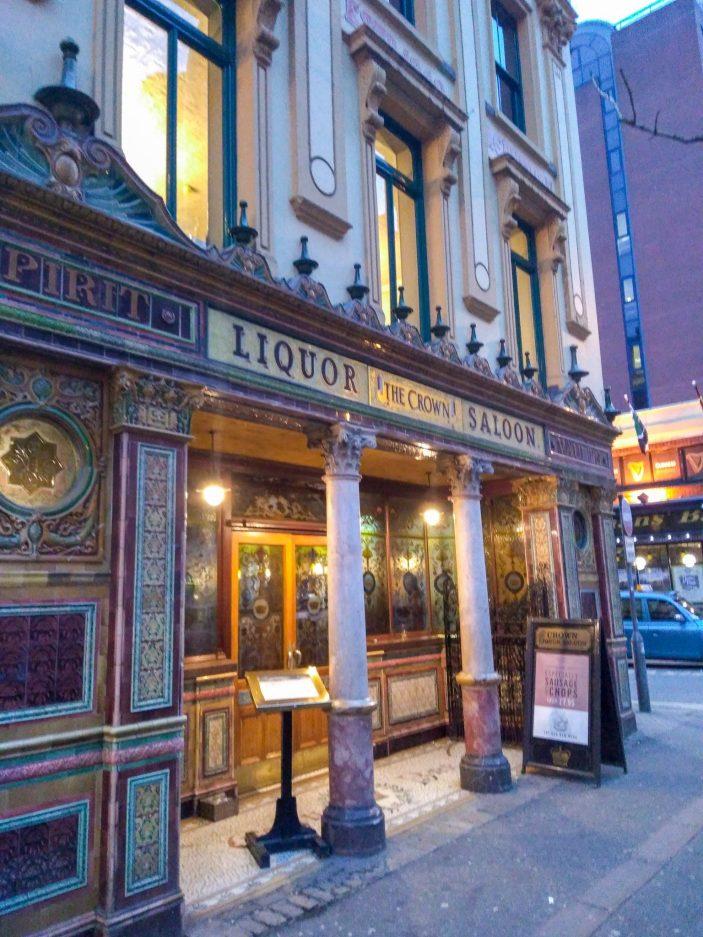How to spend 24 hours in Belfast - saloon