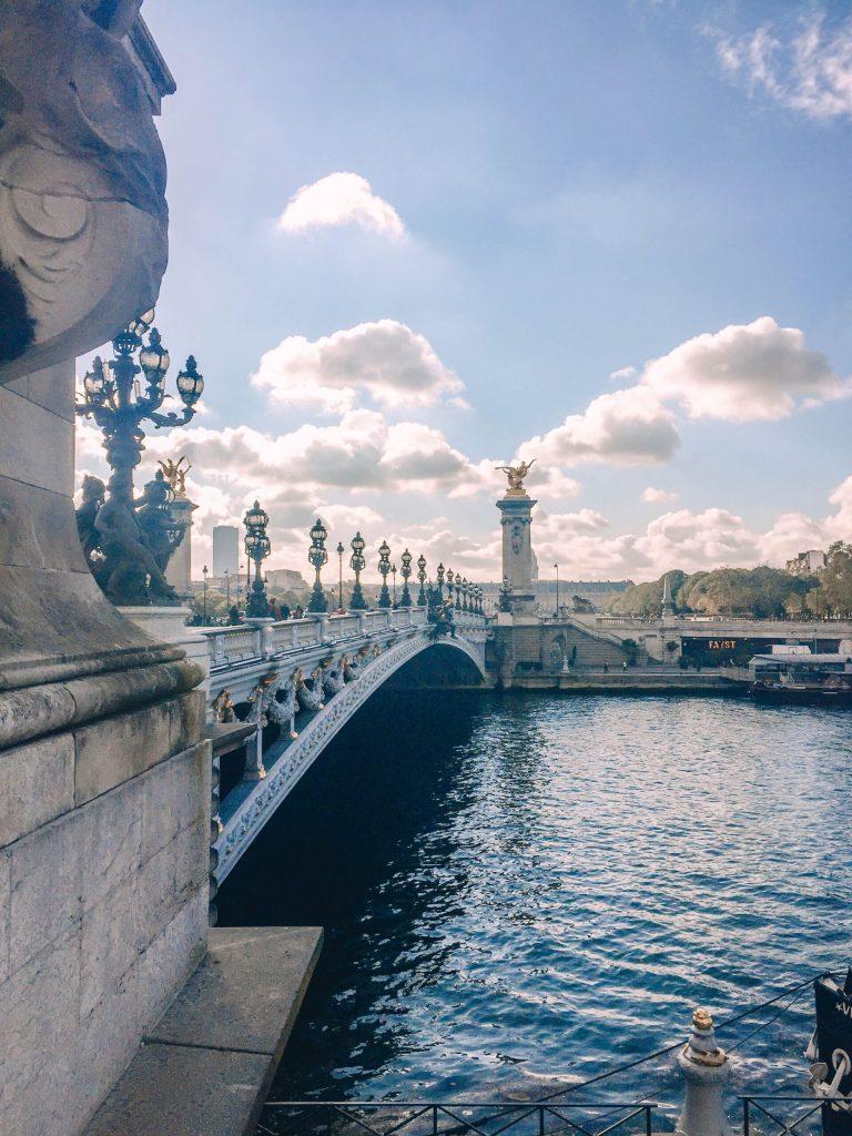 Pont Alexandre III in Paris - 2 days in Paris itinerary