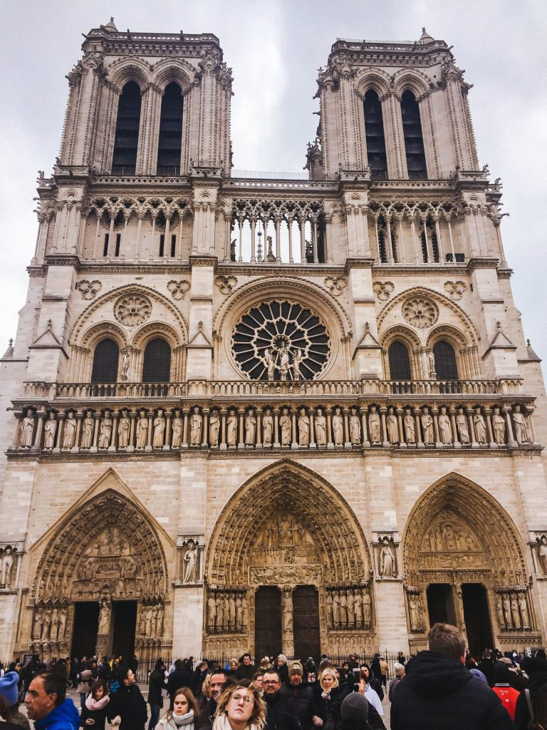 Notre Dame - 2 days in Paris itinerary
