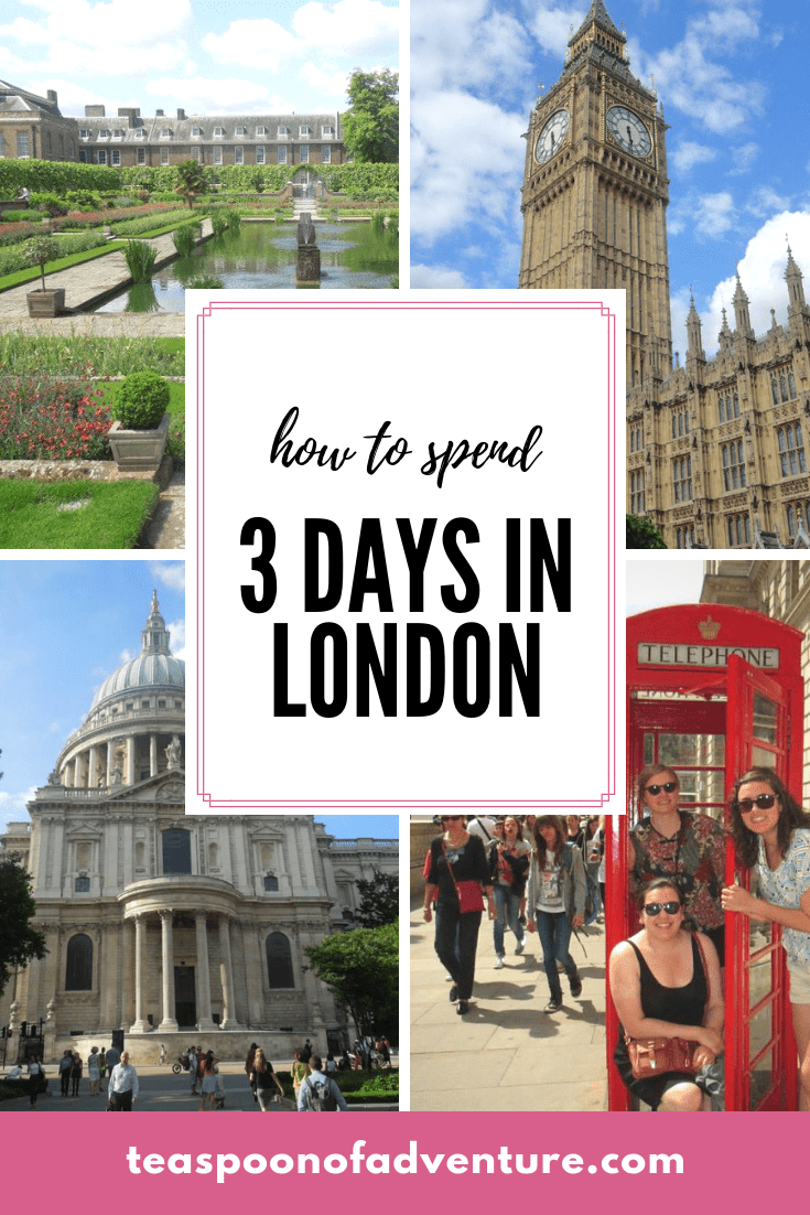Your perfect itinerary for 3 days in London! #travel #london