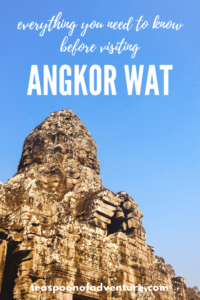 Headed to Angkor Wat? Here is everything you need to know to have the best visit - including how to see the sunset for free! #travel #angkorwat #cambodia