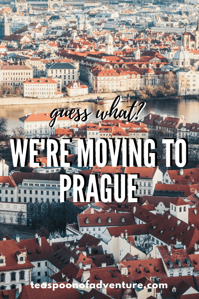 Big life update: We're moving to Prague! From Vancouver, the two of us and our dog are taking off to Prague for a year. #travel #prague #expat