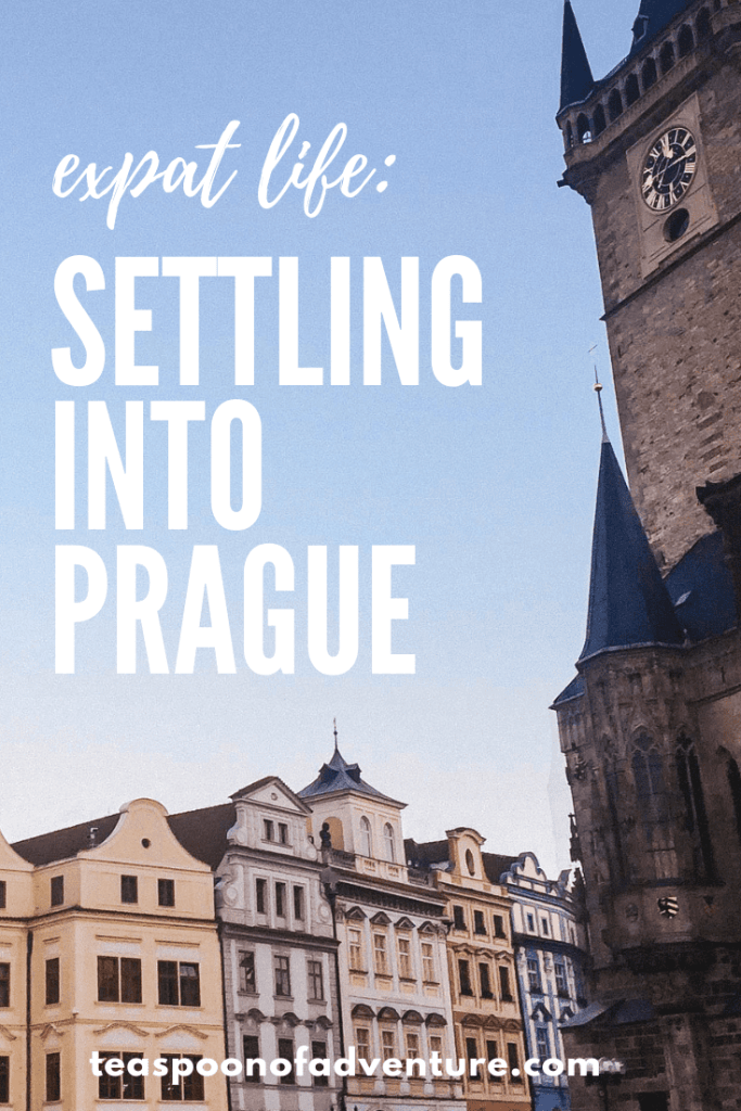 Week one of our #expat life in Prague is done! Check out how we're settling in and #traveltips for future expats! #prague #travel