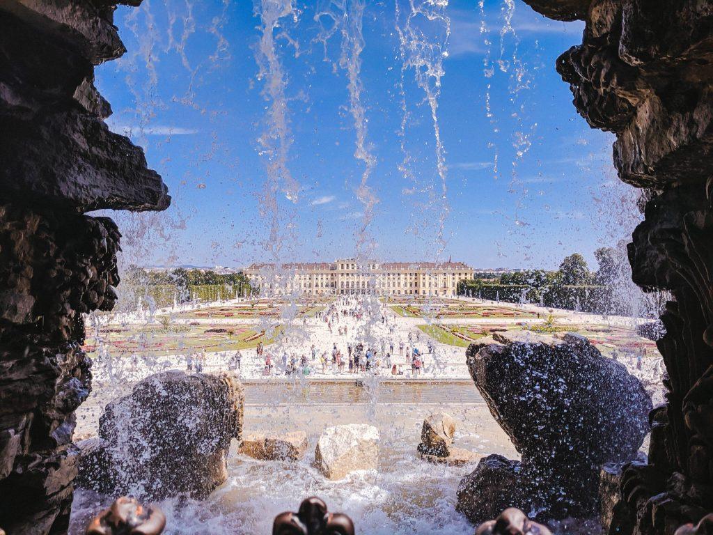 Vienna Schonbrunn Palace Neptune Fountain