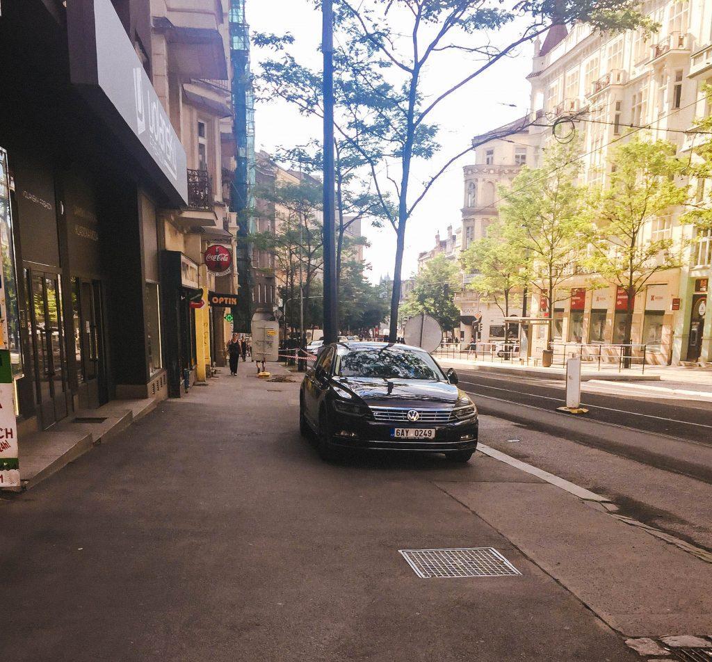 Parking in Prague