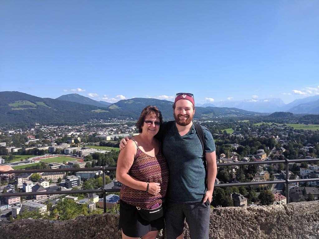 Views from Hohensalzburg Fortress