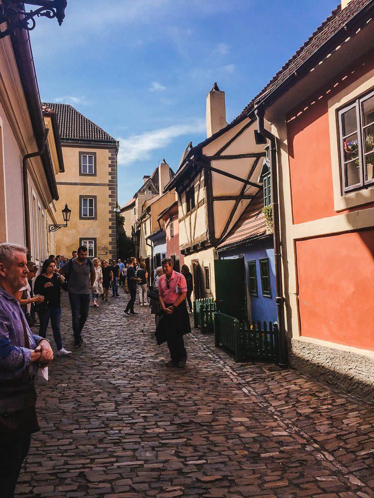 Golden Lane at the Prague Castle