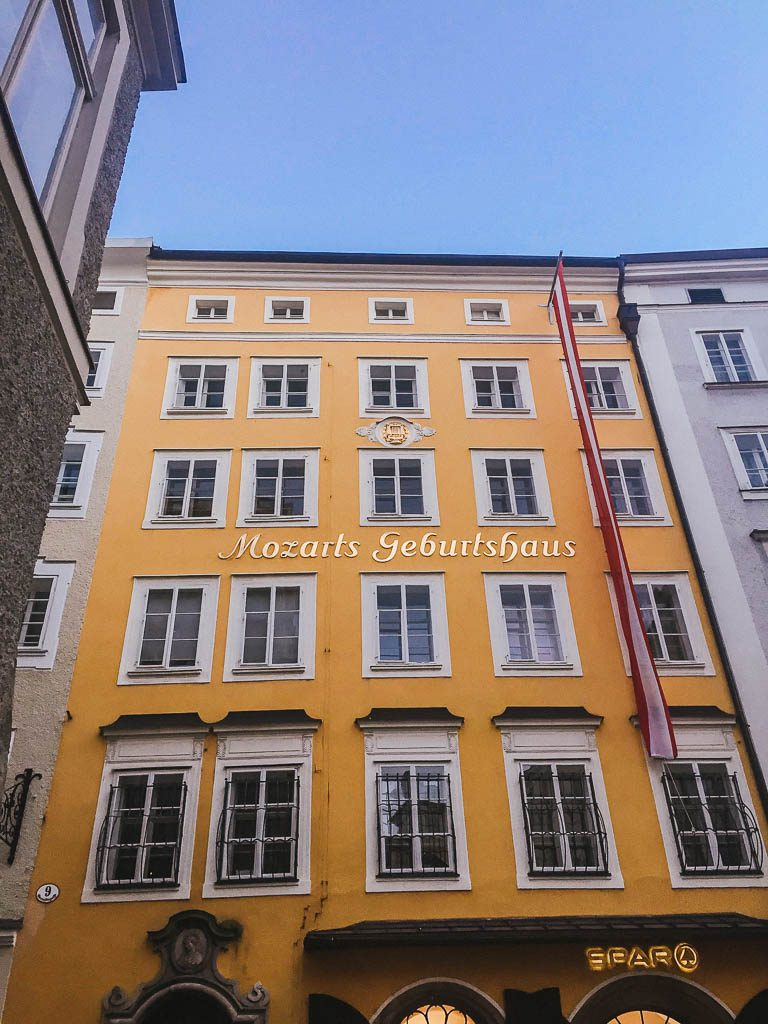 Salzburg Old Town - Mozart's birthplace