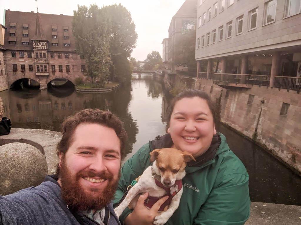 Selfie in Nuremberg