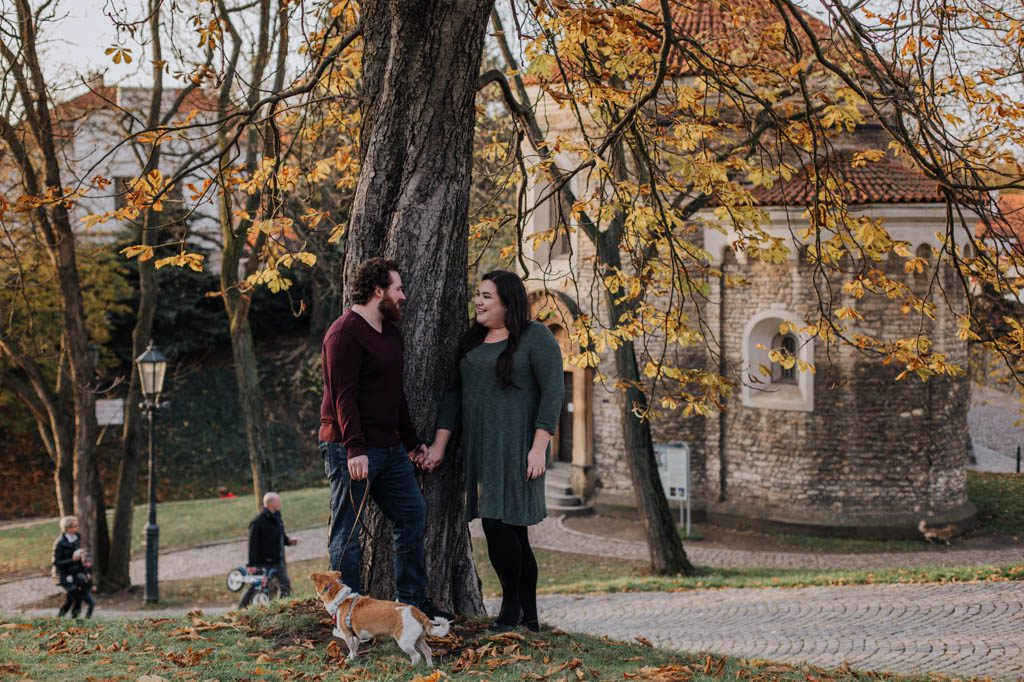 family photos in Vysehrad