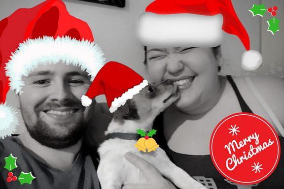 Our 2017 Christmas card!