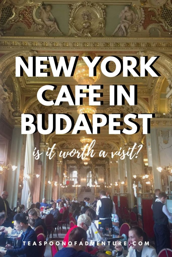 They say it's the most beautiful cafe in the world but is the New York Cafe in Budapest worth it? #budapest #hungary #europe #travel #traveltips #newyorkcafe