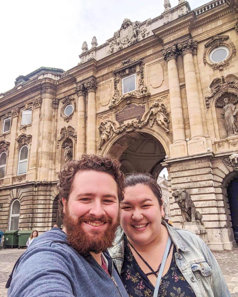 Selfie at Buda Castle
