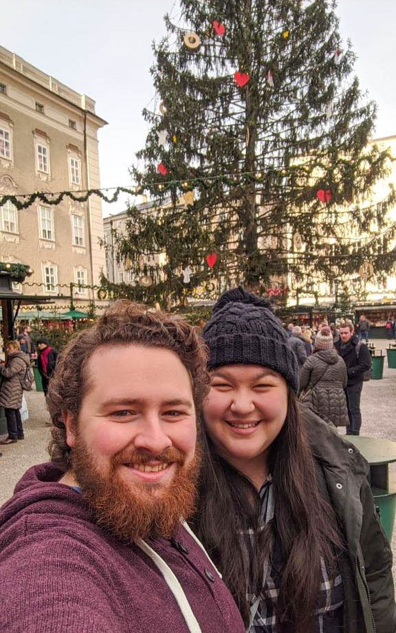 Selife at Salzburg Christmas Market