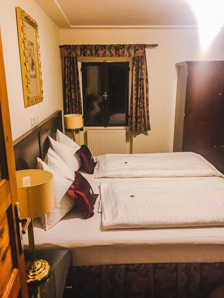 Bedroom at Pension Kapr