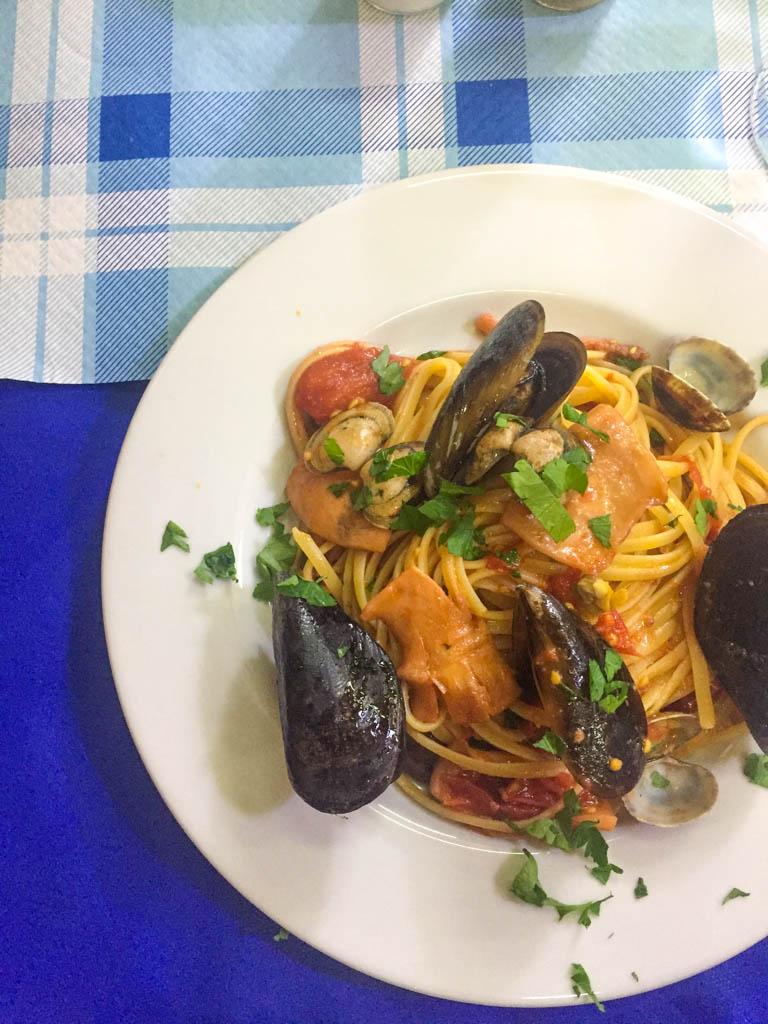 pasta in Naples