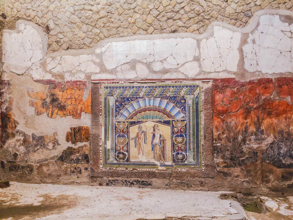 Wall at Herculaneum