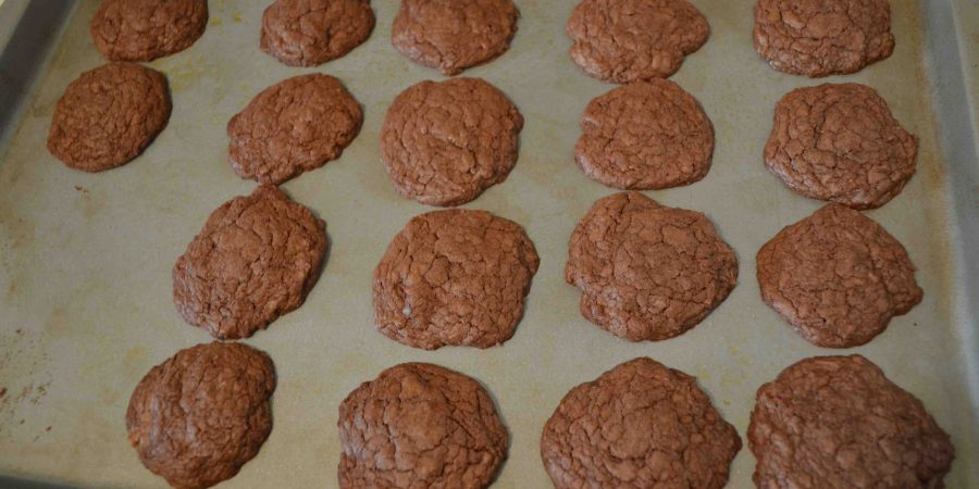 Nutella cookies are a quick and easy dessert!