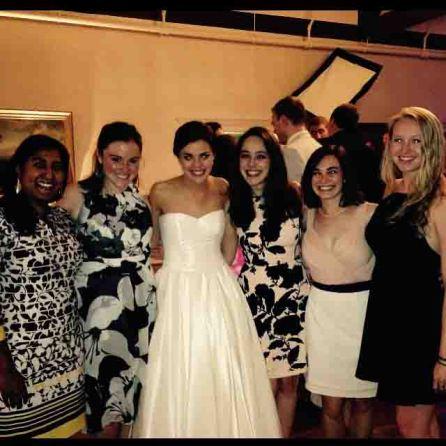 My high school friends reunited for a wedding!