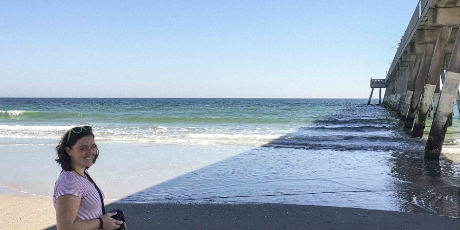Nothing beats a day trip to the beach on a warm February day! Wrightsville Beach, NC | Teaspoon of Nose