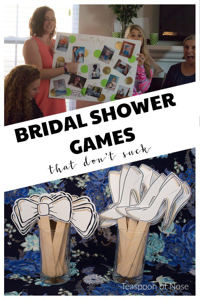 Bridal shower games that don't suck!