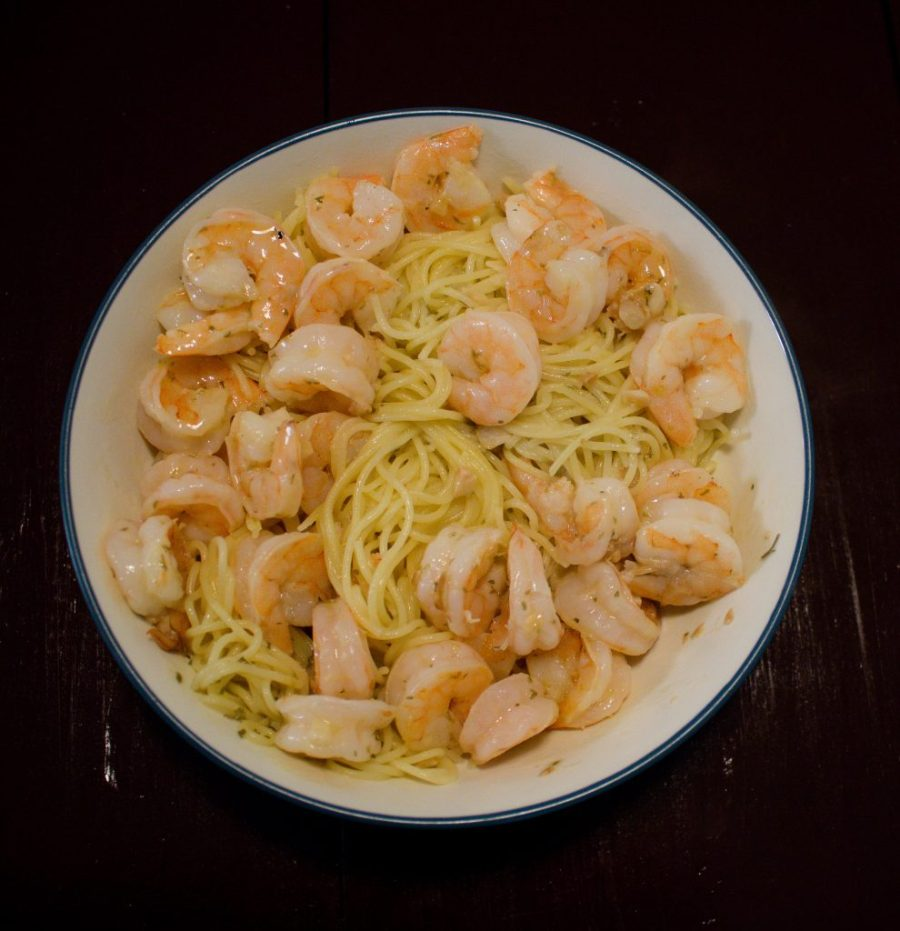This shrimp scampi is so much easier than I realized to make! | Teaspoon of Nose