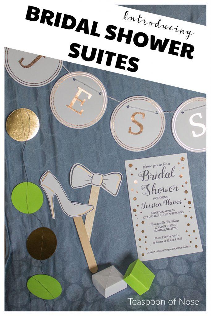 Bridal shower kit suite