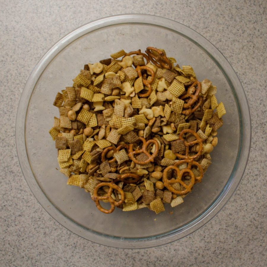 Chex Mix is easy to make and super customizable! | Teaspoon of Nose