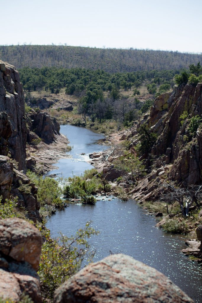Secret Oklahoma hiking spots are the best! Check out the Wichita Mountains Wildlife Refuge for Oklahoma's biggest gorge and beautiful scenery.   Teaspoon of Nose